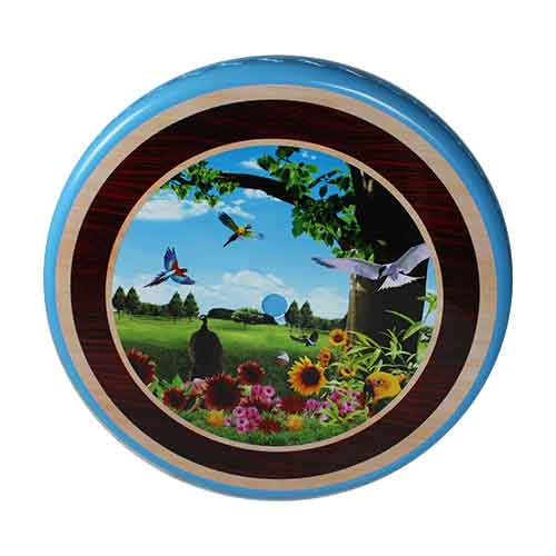 table-blue-bird-round-front