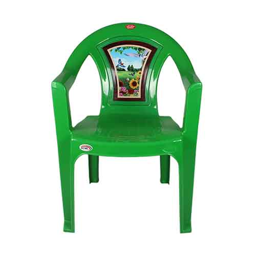 Chair 001 - Green Bird (A)