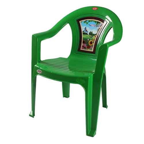 Chair 001 - Green Bird (B)