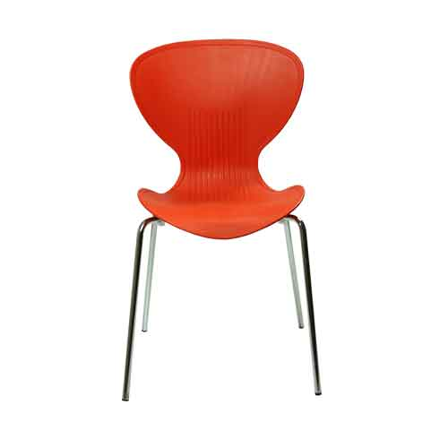 tulip-chair-orange-front