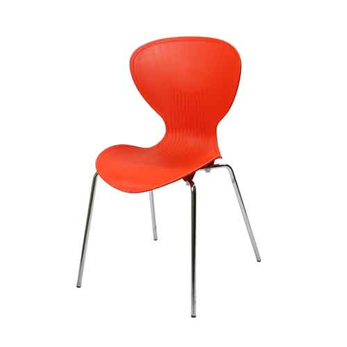 tulip-chair-orange-side