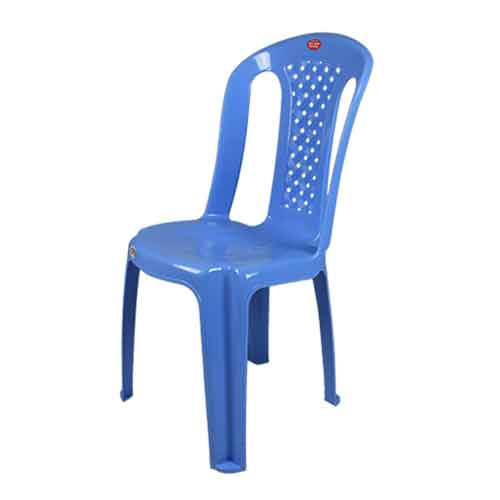 armless-chair-pleated-blue-side