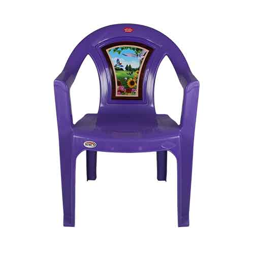 Chair 001 - Purple Bird (A)