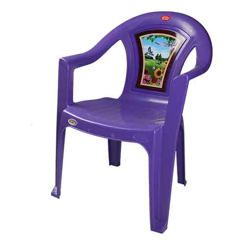 Chair 001 - Purple Bird (B)