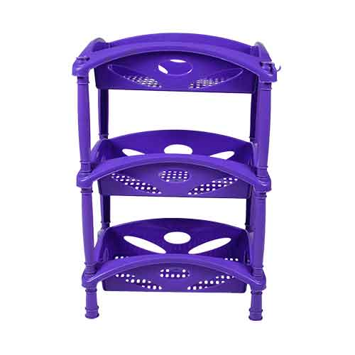 rec plain lily trolley 3rack -front