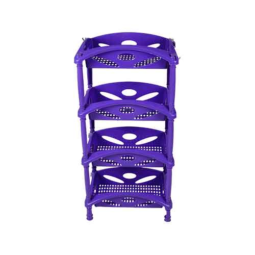 rec plain lily trolley 4rack -front